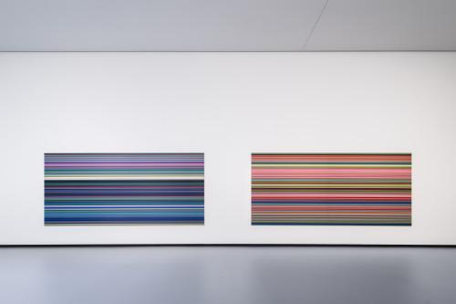 Gerhard Richter - Strip %28921-5%29 puis Strip %28921-2%29 © Fondation Louis Vuitton Martin Argyroglo © Gerhard Richter.jpeg
