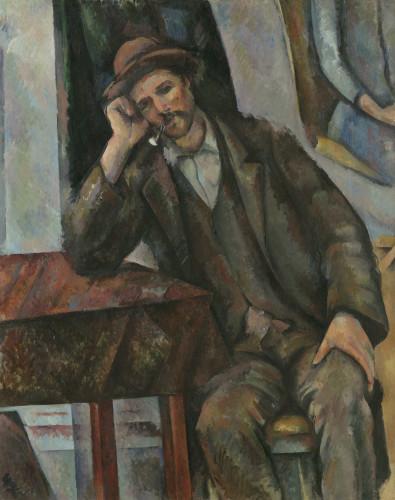 Paul Cézanne, L'Homme à la pipe (Le Fumeur), 1890-1893 ©Moscou, Musée d'État des Beaux-Arts Pouchkine