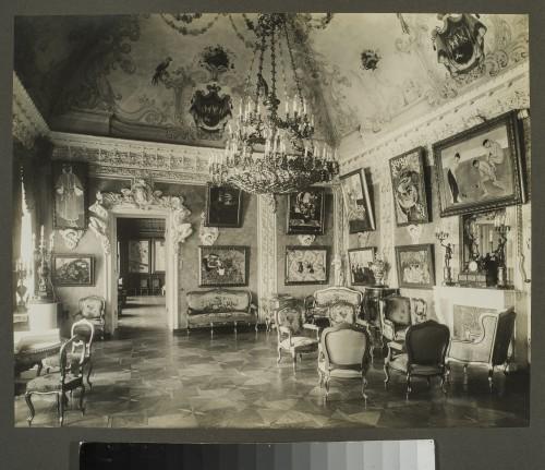 La salle Matisse (Le salon rose) au Palais Troubetskoï, début 1920 ©Moscou, Musée d'Etat des Beaux-Arts Pouchkine. Photo ©Musée d'Art Moderne Occidental, Moscou