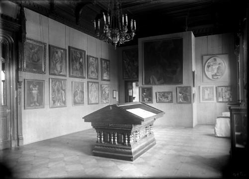 Salon Picasso ©Moscou, Musée d'Etat des Beaux-Arts Pouchkine. Photo ©Musée d'Art Moderne Occidental, Moscou