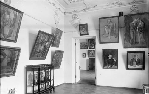 La salle Picasso ©Moscou, Musée d'Etat des Beaux-Arts Pouchkine Photo ©Musée d'Art Moderne Occidental, Moscou