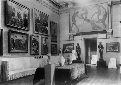 Salon Matisse ©Moscou, Musée d'Etat des Beaux-Arts Pouchkine. Photo ©Musée d'Art Moderne Occidental, Moscou