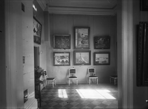 La salle de Marquet et Matisse ©Moscou, Musée d'Etat des Beaux-Arts Pouchkine. Photo ©Musée d'Art Moderne Occidental, Moscou