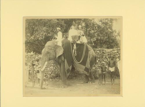 Lidia et Sergei in India ©Moscou, Musée d'Etat des Beaux-Arts Pouchkine. Photo ©Auteur inconnu