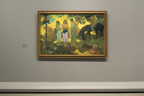 P. Gauguin, Ruperupe (La Cueillette des fruits),1899©Fondation Louis Vuitton-Martin Argyroglo