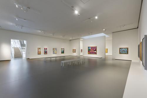 Vue installation salle 8 ©Succession H. Matisse pour les oeuvres de l'artiste. Photo Fondation Louis Vuitton / Martin Argyroglo
