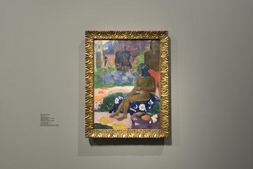Paul Gauguin Vaïraumati téi oa (Vaïraumati elle se nommait) ©Fondation Louis Vuitton/Martin Argyroglo
