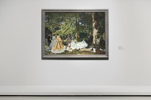 Claude Monet, Luncheon the Grass ©Fondation Louis Vuitton/Martin Argyroglo