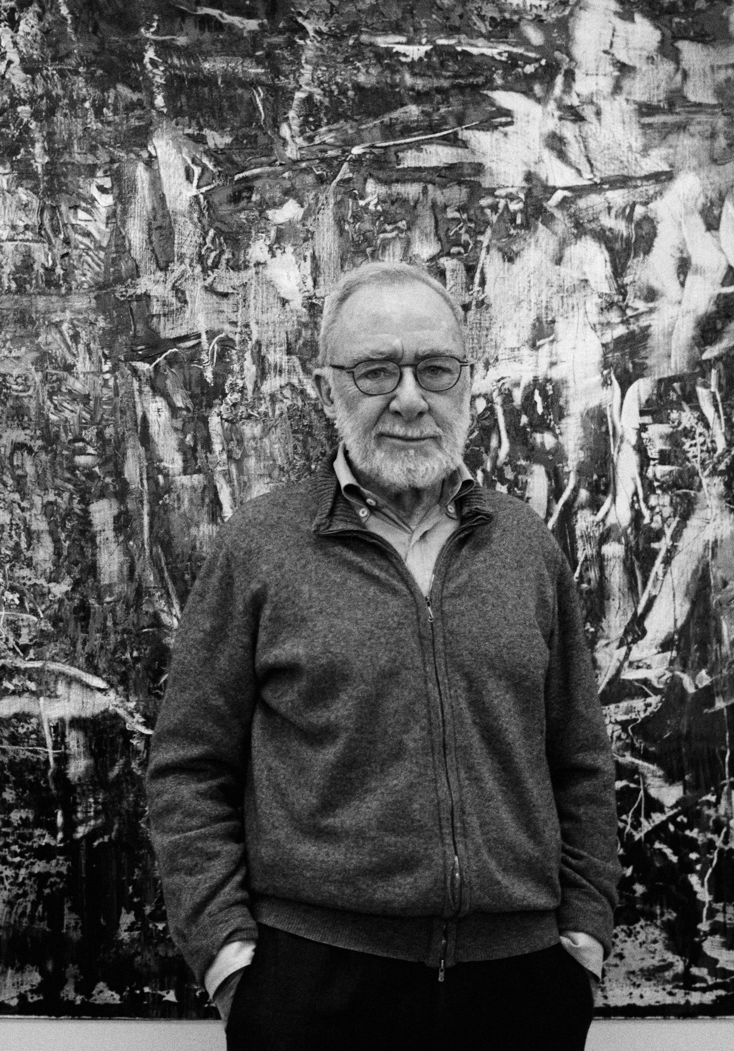 Portrait de Gerhard Richter © Gerhard Richter