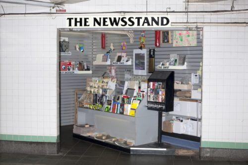 Lele Saveri. The Newsstand (Le Kiosque). 2013-2014 © Lele Saveri © Alldayeveryday