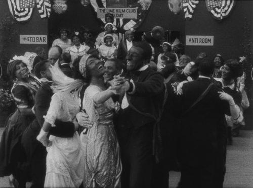Odessa Warren Gray, Bert Williams, scene still Lime Kiln Club Field Day 1914/2014, Museum of Modern Art New York