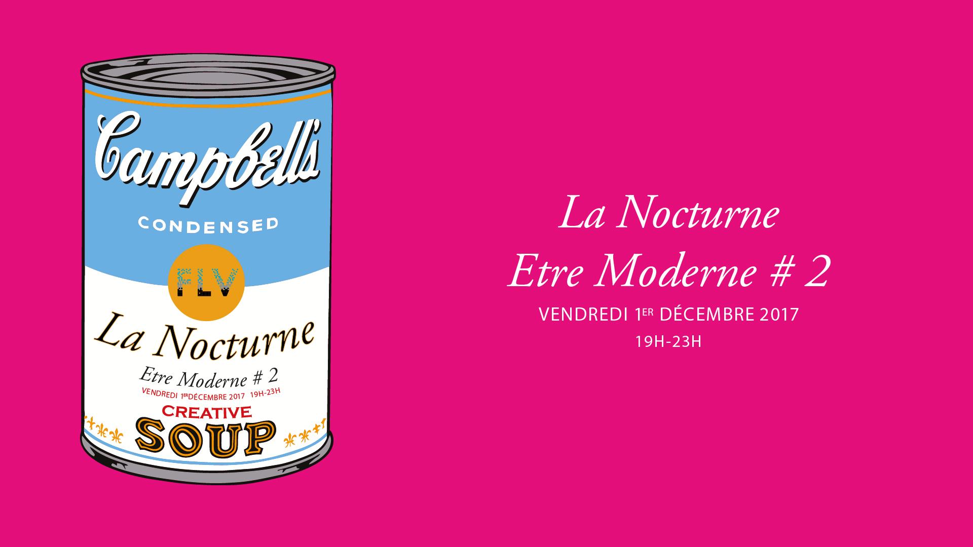 Fondation Louis Vuitton - La Nocturne Etre Moderne #2 - Vendredi 1er décembre 2017 19h-23h