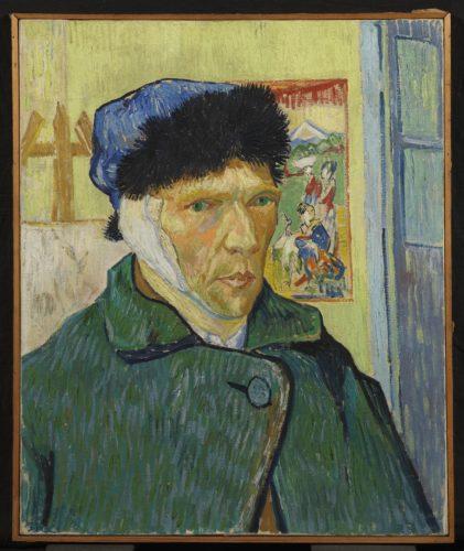 Vincent van Gogh, Autoportrait à l'oreille bandée, 1889. The Courtauld Gallery (The Samuel Courtauld Trust), London. © The Courtauld Gallery (The Samuel Courtauld Trust), London
