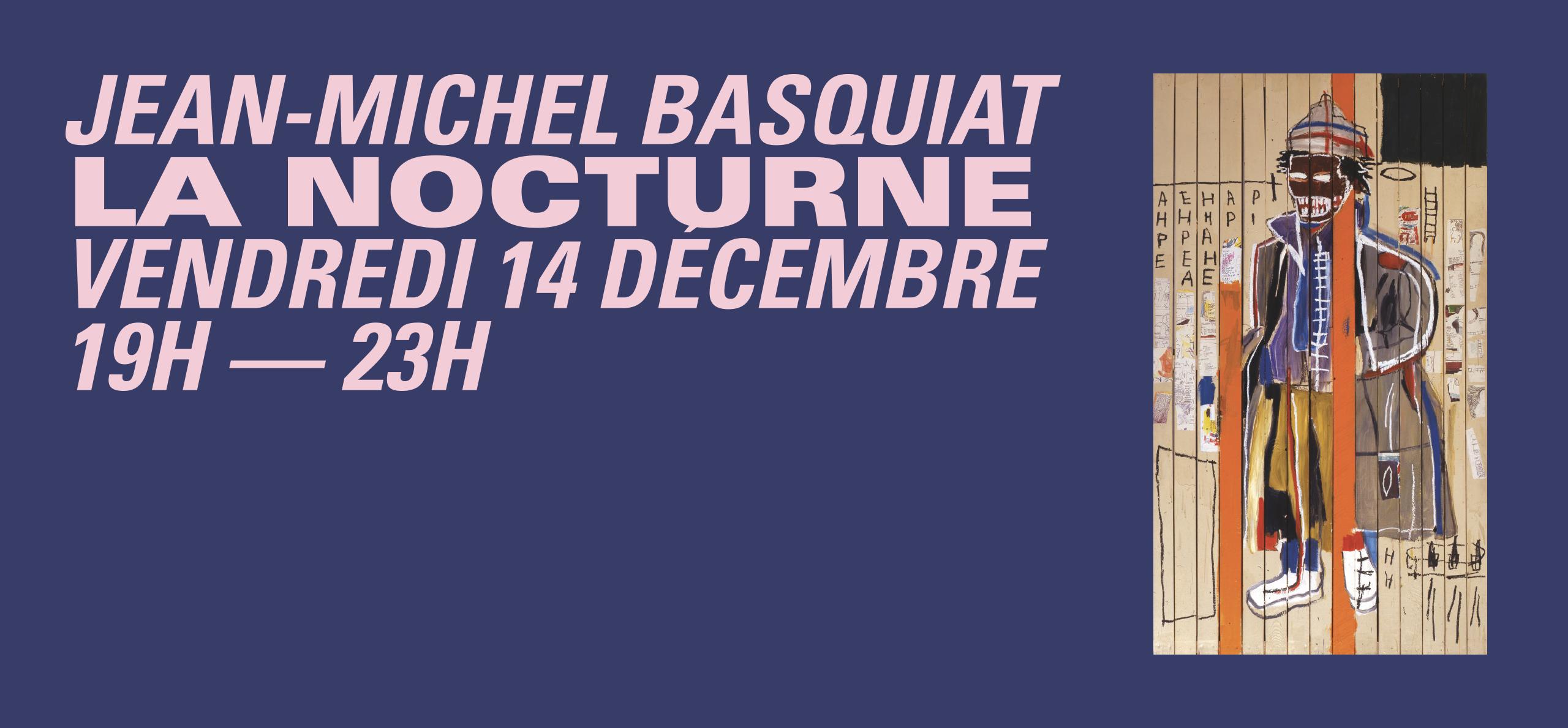 La Nocturne Jean-Michel Basquiat - 14 décembre 2018. Jean-Michel Basquiat, Anthony Clarke, 1985.  © Estate of Jean-Michel Basquiat, licensed by Artestar, New York. London, private collection.