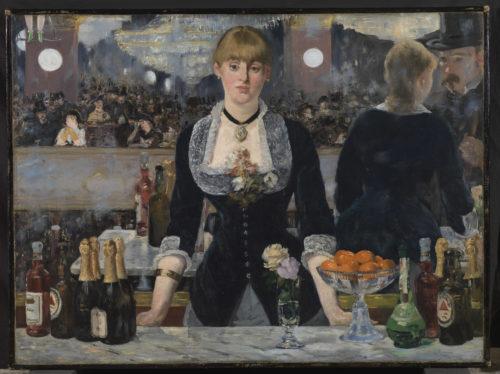 Edouard Manet. Bar aux Folies-Bergère, 1882. © The Samuel Courtauld Trust, The Courtauld Gallery, London