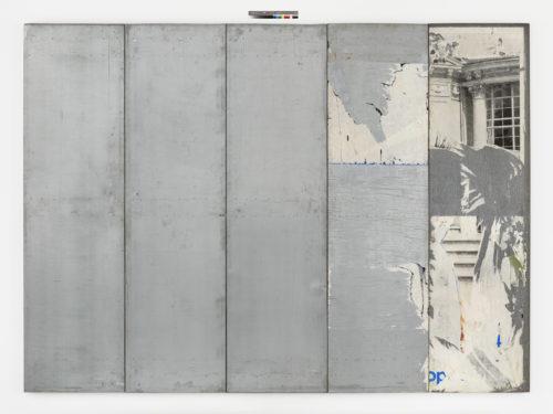Raymond Hains. Sans titre, 1990. © Succession Raymond Hains Courtesy de la Succession R.Hains & de la Galerie Max Hetzler