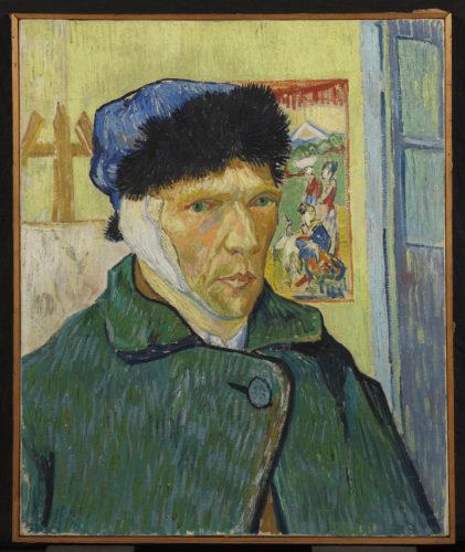 Vincent van Gogh. Autoportrait à l'oreille bandée, 1889. © The Courtauld Gallery (The Samuel Courtauld Trust), London