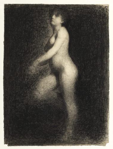 Georges Seurat. Nu féminin, vers 1879-1881. © The Courtauld Gallery, London (Samuel Courtauld Trust)
