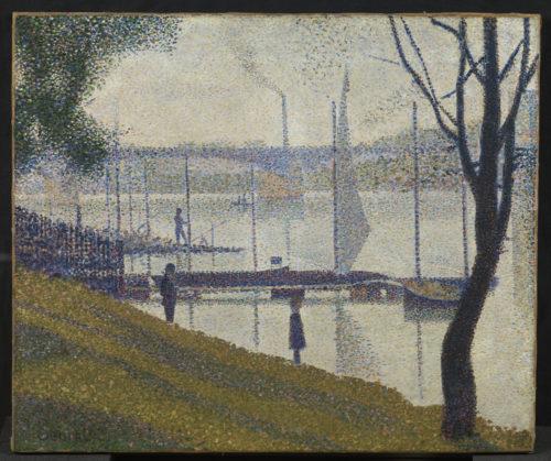 Georges Seurat. Le Pont de Courbevoie, vers 1886-1887. © The Courtauld Gallery, London (Samuel Courtauld Trust)