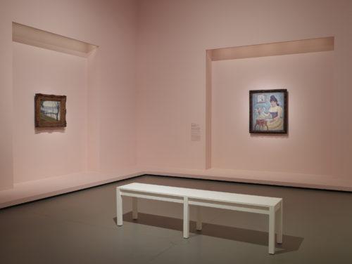 Vue d'installation de l'exposition La Collection Courtauld : le parti de impressionnisme, du 20 février au 17 juin 2019, à la Fondation Louis Vuitton. © Fondation Louis Vuitton / Marc Domage