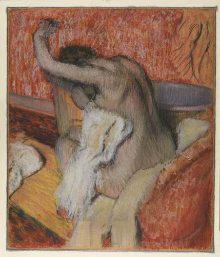 Edgar Degas. Après le bain, Femme se séchant, vers 1985. © The Courtauld Gallery, London (Samuel Courtauld Trust)