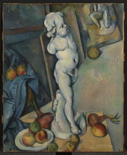 Paul Cézanne. Nature morte à l'Amour en plâtre, vers 1894. © The Courtauld Gallery, London (Samuel Courtauld Trust)