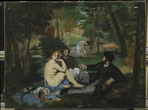 Édouard Manet. Le Déjeuner sur l'herbe, vers 1863. © The Courtauld Gallery, London (Samuel Courtauld Trust)