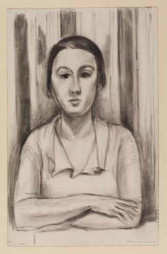 Henri Matisse. Femme accoudée sur une table, 1923. © Succession H. Matisse The Courtauld Gallery, London (Samuel Courtauld Trust)