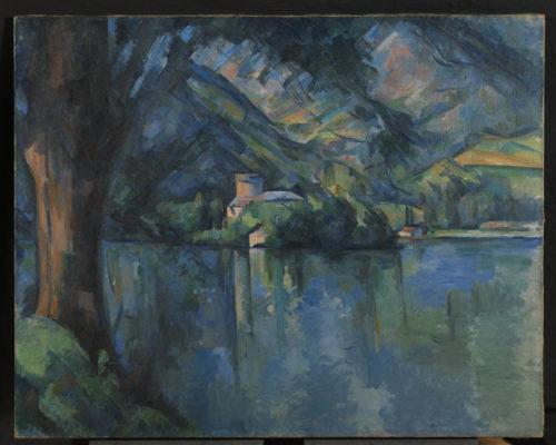Paul Cézanne. Le Lac d'Annecy, 1896. © The Courtauld Gallery, London (Samuel Courtauld Trust)