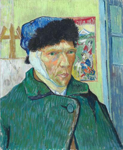 Vincent van Gogh. Autoportrait à l'oreille bandée, 1889. © The Courtauld Gallery, London (Samuel Courtauld Trust)