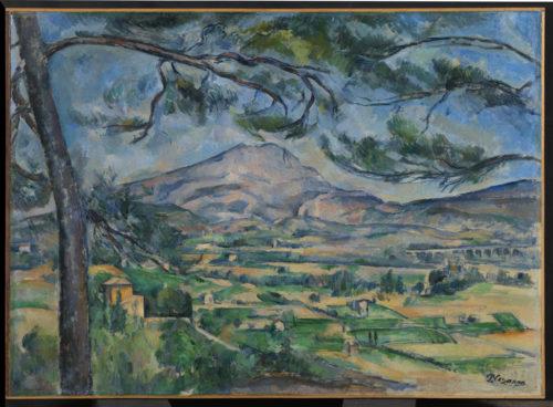 Paul Cézanne. La Montagne Sainte-Victoire au grand pin, vers 1887. © The Courtauld Gallery, London (Samuel Courtauld Trust)