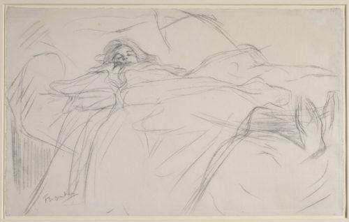 Henri de Toulouse-Lautrec. Au lit, vers 1896. © The Courtauld Gallery, London (Samuel Courtauld Trust)