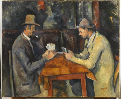 Paul Cézanne. Les Joueurs de cartes, vers 1892-1896. © The Courtauld Gallery, London (Samuel Courtauld Trust)