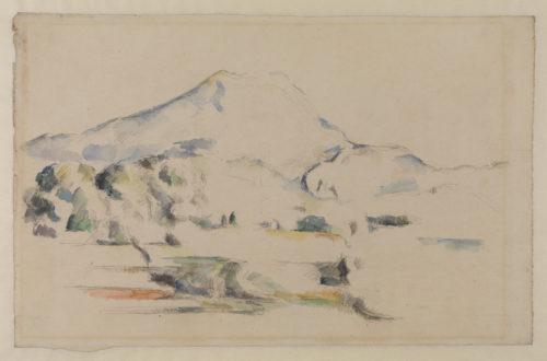 Paul Cézanne. La Montagne Sainte-Victoire, vers 1887. © The Courtauld Gallery, London (Samuel Courtauld Trust)