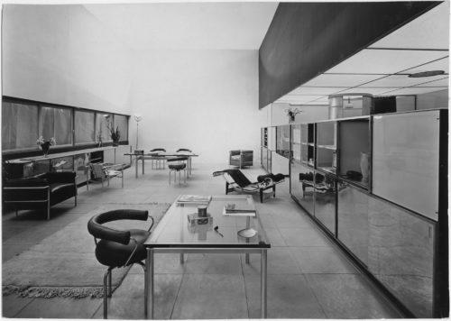 Le Corbusier, Pierre Jeanneret, Charlotte Perriand, Un équipement intérieur d'une habitation, Salon d'autonmne, 1929. © F.L.C. / Adagp, Paris, 2019 ; © Adagp, Paris, 2019 ; © Adagp, Paris, 2019 ; © Archives Charlotte Perriand