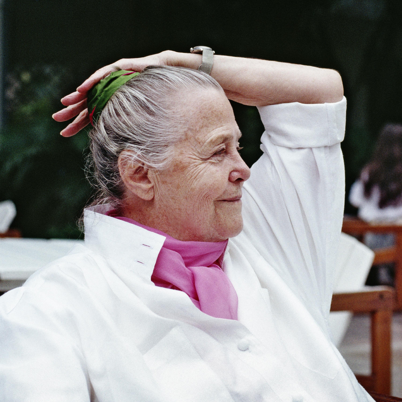 Charlotte Perriand à Rio, 1987. © Adagp, Paris, 2019 ; © Archives Charlotte Perriand