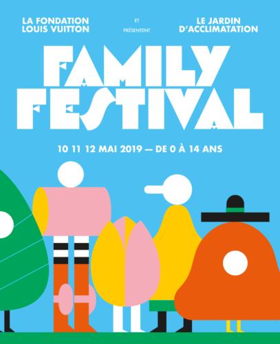 La Fondation Louis Vuitton et le Jardin d'Acclimatation _ Family Festival_ 10/11/12 Mai 2019