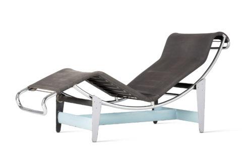 Le Corbusier, P. Jeanneret, Ch. Perriand. Chaise longue basculante, B306, 1928-29. Vitra Design Museum © F.L.C. / Adagp, Paris, 2019 © Adagp, Paris, 2019 Courtesy of Vitra Design Museum