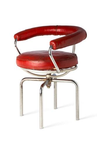 Charlotte Perriand, Fauteuil pivotant (Swivel armchair), B302, 1927, © Paris 2019 Courtesy of Vitra Design Museum