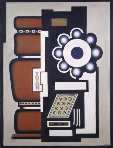 Fernand Léger. Nature morte (Le Mouvement à billes), 1926. Kunstmuseum Basel – Schenkung Dr. h.c. Raoul La Roche. © Adagp, Paris, 2019 © Kunstmuseum Basel, Martin P. Bühler