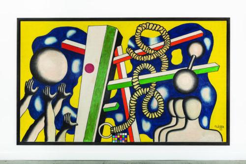 Fernand Léger. La salle de culture physique. Le sport, 1935. Collection Privée © Adagp, Paris, 2019 © Silvia Ros