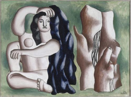 Fernand Léger. La baigneuse, 1932. Biot, musée national Fernand Léger © Adagp, Paris, 2019 © RMN-Grand Palais (musée Fernand Léger) / Gérard Blot