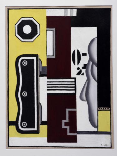 Fernand Léger. Le profil, 1926. Belfort, Musée d'art moderne – Donation Maurice Jardot © Adagp, Paris, 2019 © Musée d'art moderne, Donation Maurice Jardot, Belfort Courtesy of Donation Maurice Jardot, Belfort
