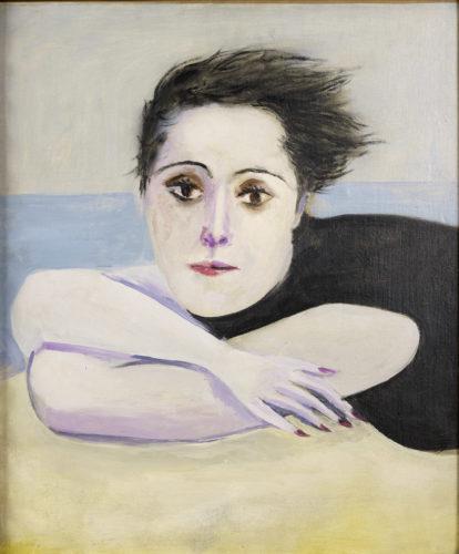 Pablo Picasso, Dora Maar sur la plage (Dora Maar at the beach), 1936, Oil on canvas, © Succession Picasso 2019 © Anne Chauvet