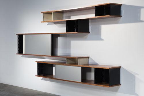 Charlotte Perriand, Nuage bookcase, Steph Simon edition, c. 1958 © Adagp, Paris, 2019 © Studio Shapiro / Galerie Downtown - François Laffanour