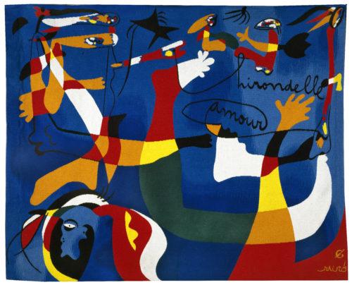 Joan Miró, Hirondelle d'amour (Swallow love), 1980, © Successió Miró / Adagp, Paris, 2019 © I.Bideau